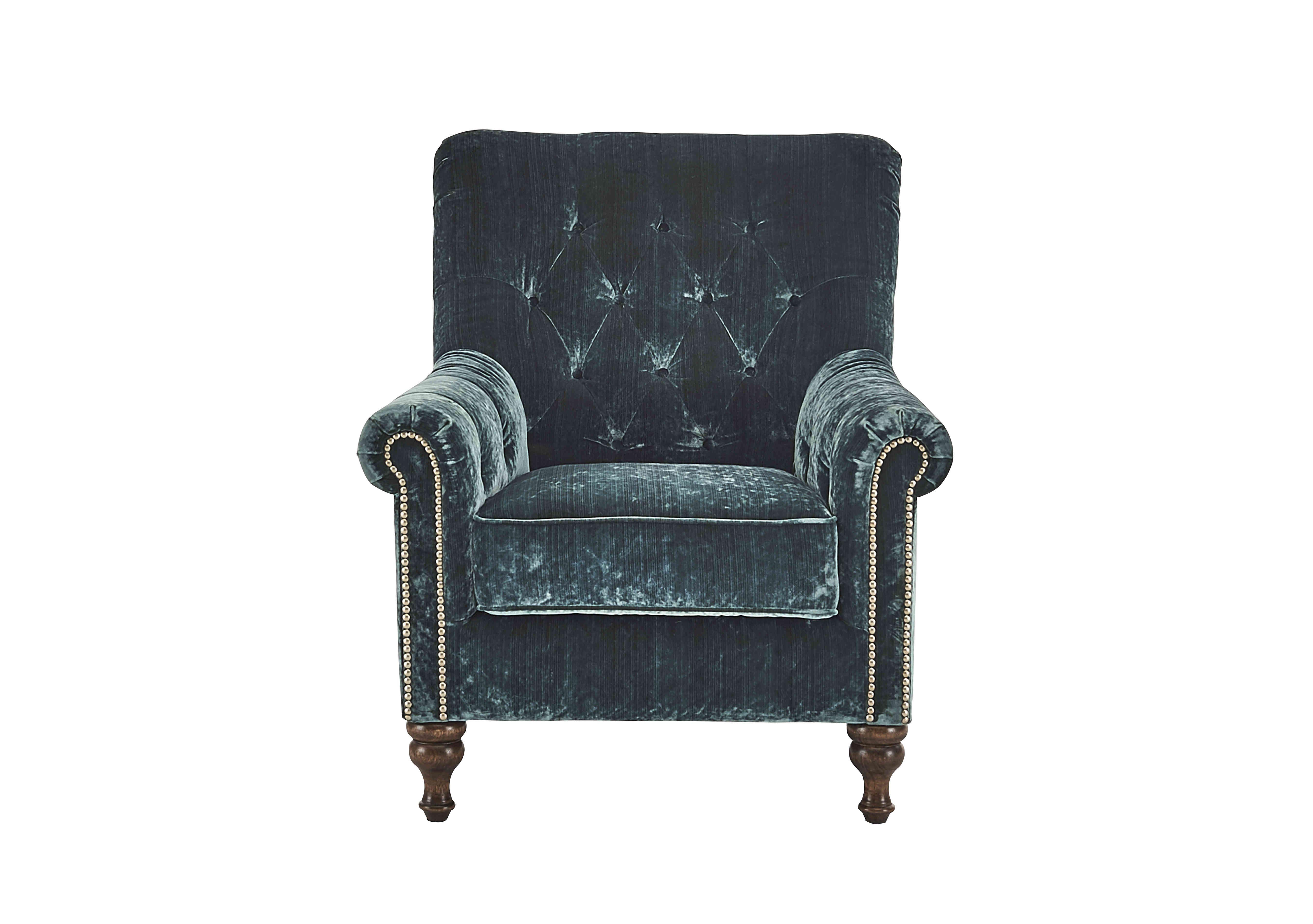 Cuba Teal Velvet Armchair Fabric Armchairs Armchair Yellow