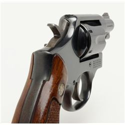 Smith and Wesson Model 10-7 revolver, cal. .38 Sp., Serial #AFU1213. The pistol is in overall goo