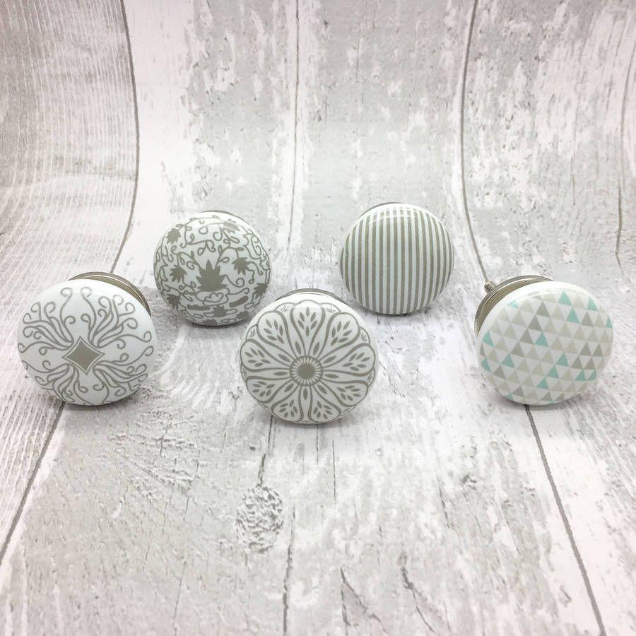 Success Ceramic Door Knobs Cupboard Drawer Door Handles | Porcelain ...