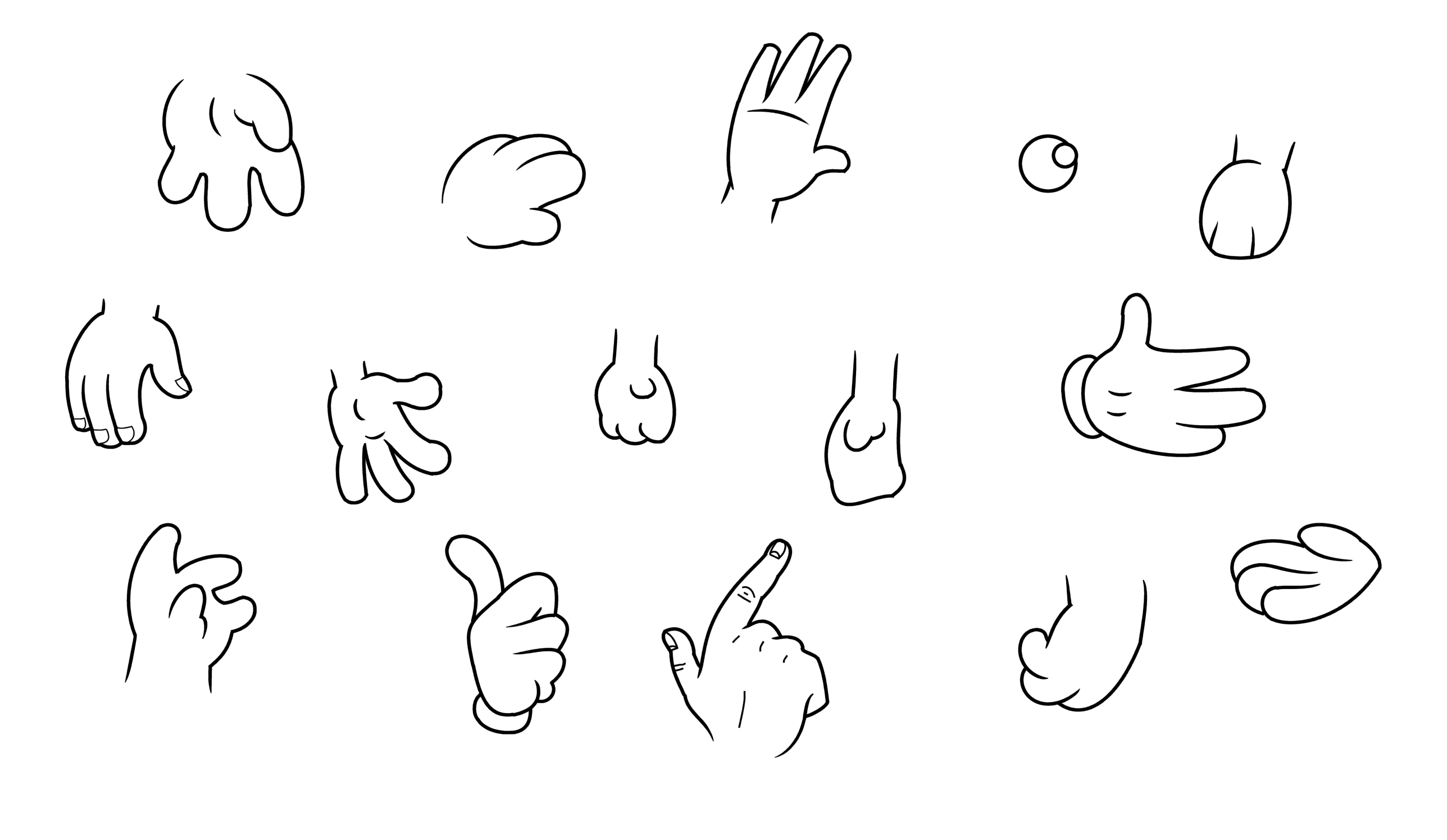 How To Draw Animated Hands