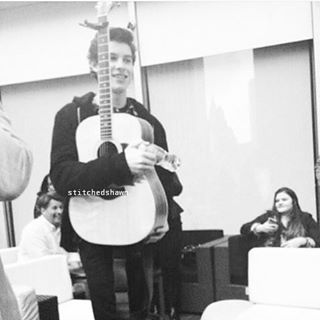 Fetus Shawn and his guitar