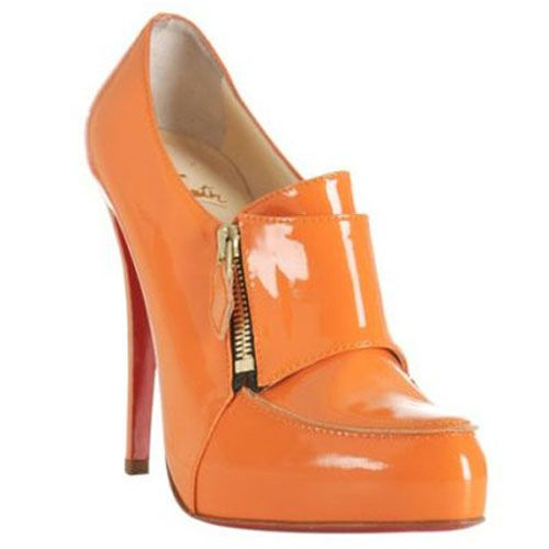 Christian Louboutin Mary Jane Zapatillas naranja