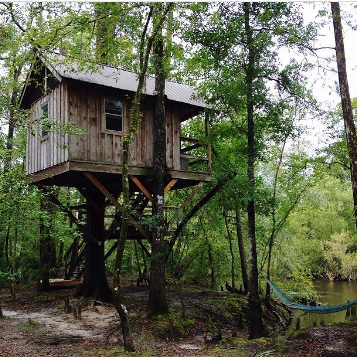 @shelterprotectsyou / @sheltercollective walked 13 miles to get to this treehouse. #treehouseclub