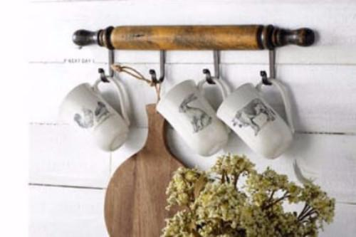 Happy Thanksgiving from | Hanging racks, Wood, Rolling pin