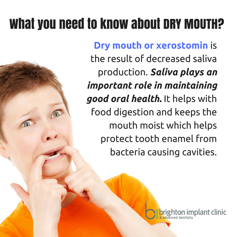 What you need to know about dry mouth? dentalfacts