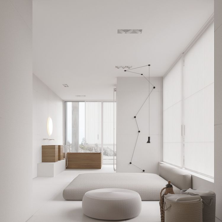Homedesigning via a mesmerizingly minimalist 4 bedroom luxury house by igor sirotov