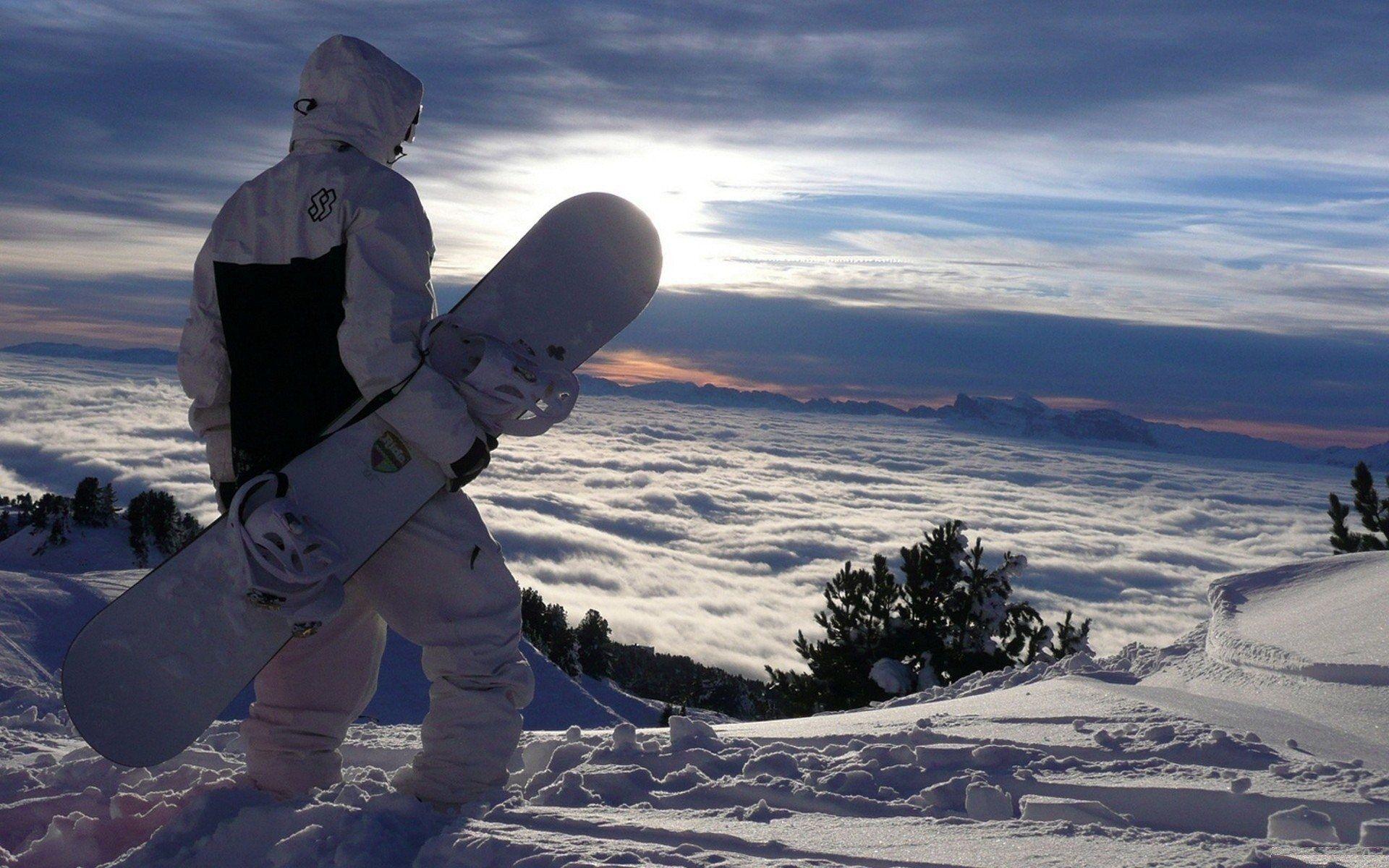 Snowboarding Wallpaper Hd Widescreen Lugares Para
