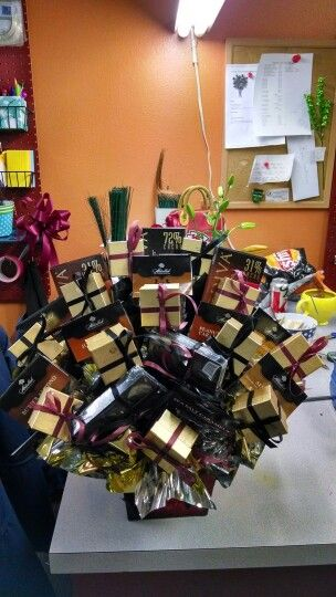 High End Chocolate Candy Bouquet
