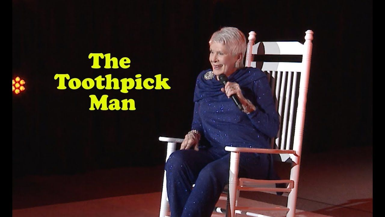 Excellent Jeanne Robertson The Toothpick Man Funny Stuff Gmtry Best Dining Table And Chair Ideas Images Gmtryco