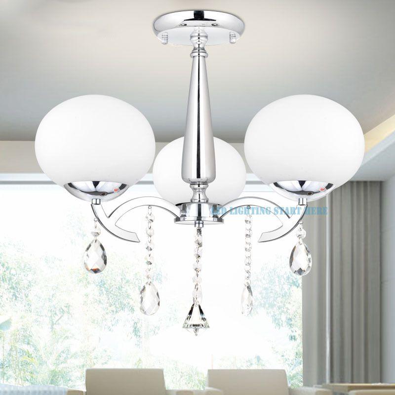 Image result for Elegant Modern Crystal 3 Light Chandelier