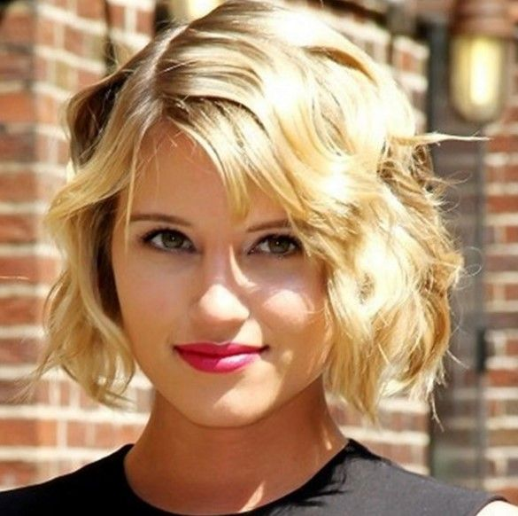 Most Endearing Hairstyles For Fine Curly Hair Short Blonde Wavy