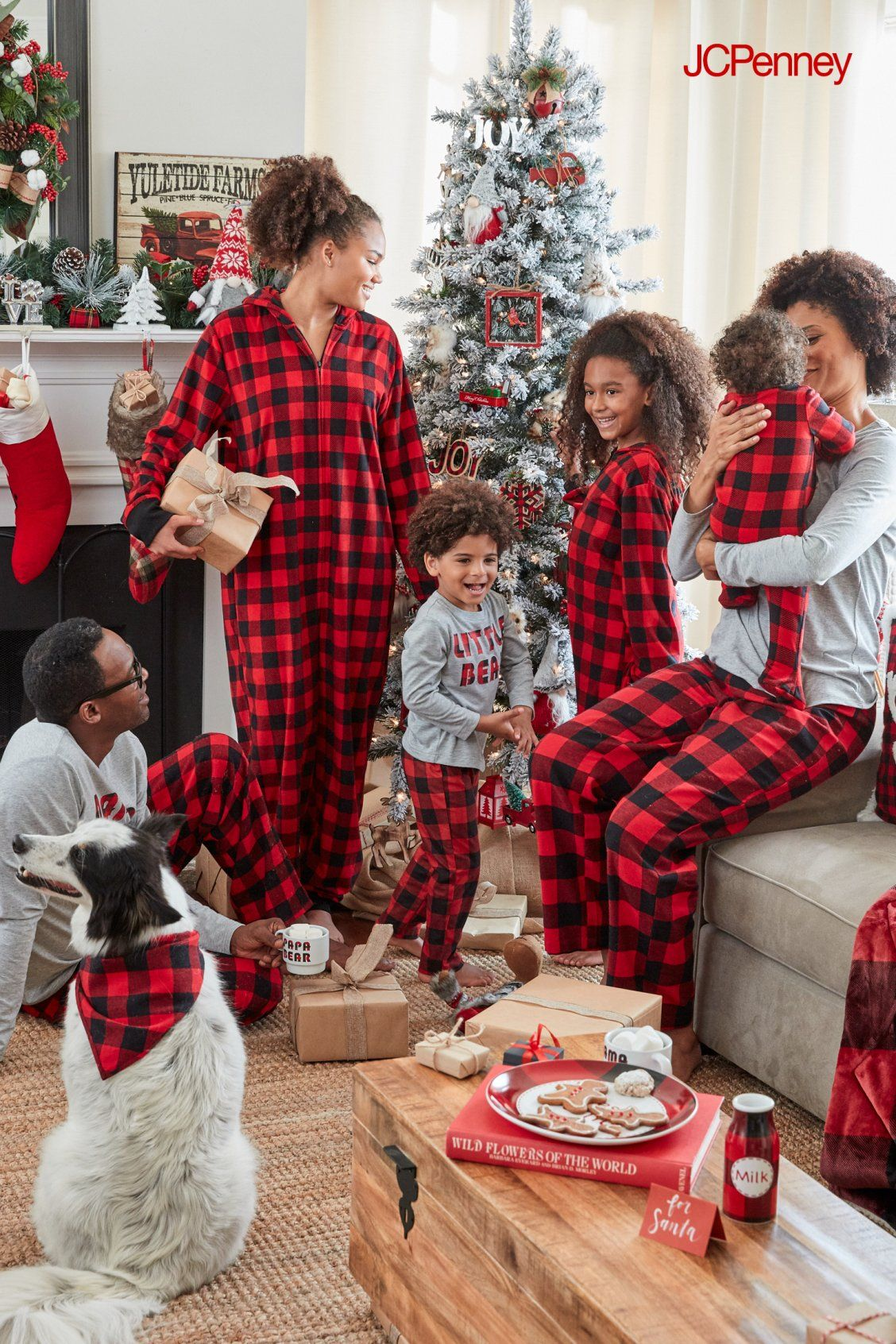 474cd76d91 Family pjs are in full effect this holiday season. Super cute for holiday  pictures