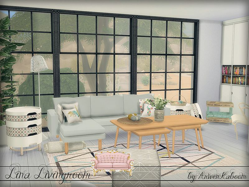 Modern Scandinavian Livingroom For Your Simmies. Found In TSR Category U0027Sims  4 Living Room