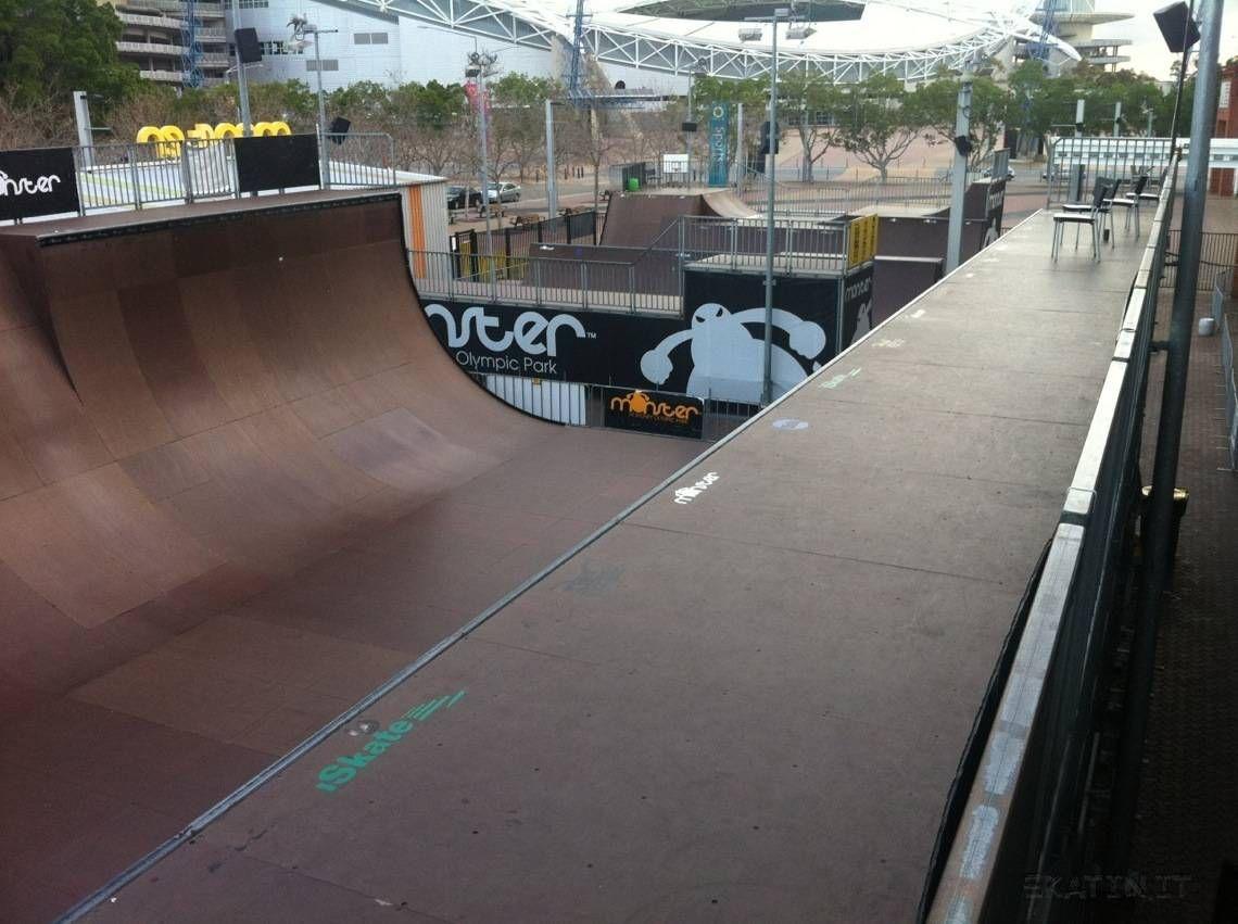 Monster Skatepark Sydney NSW Australia Skate Skateboarding Skatinit