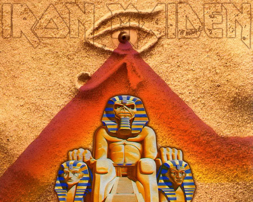 Iron Maiden Powerslave Giclee Canvas Album Cover Picture Art
