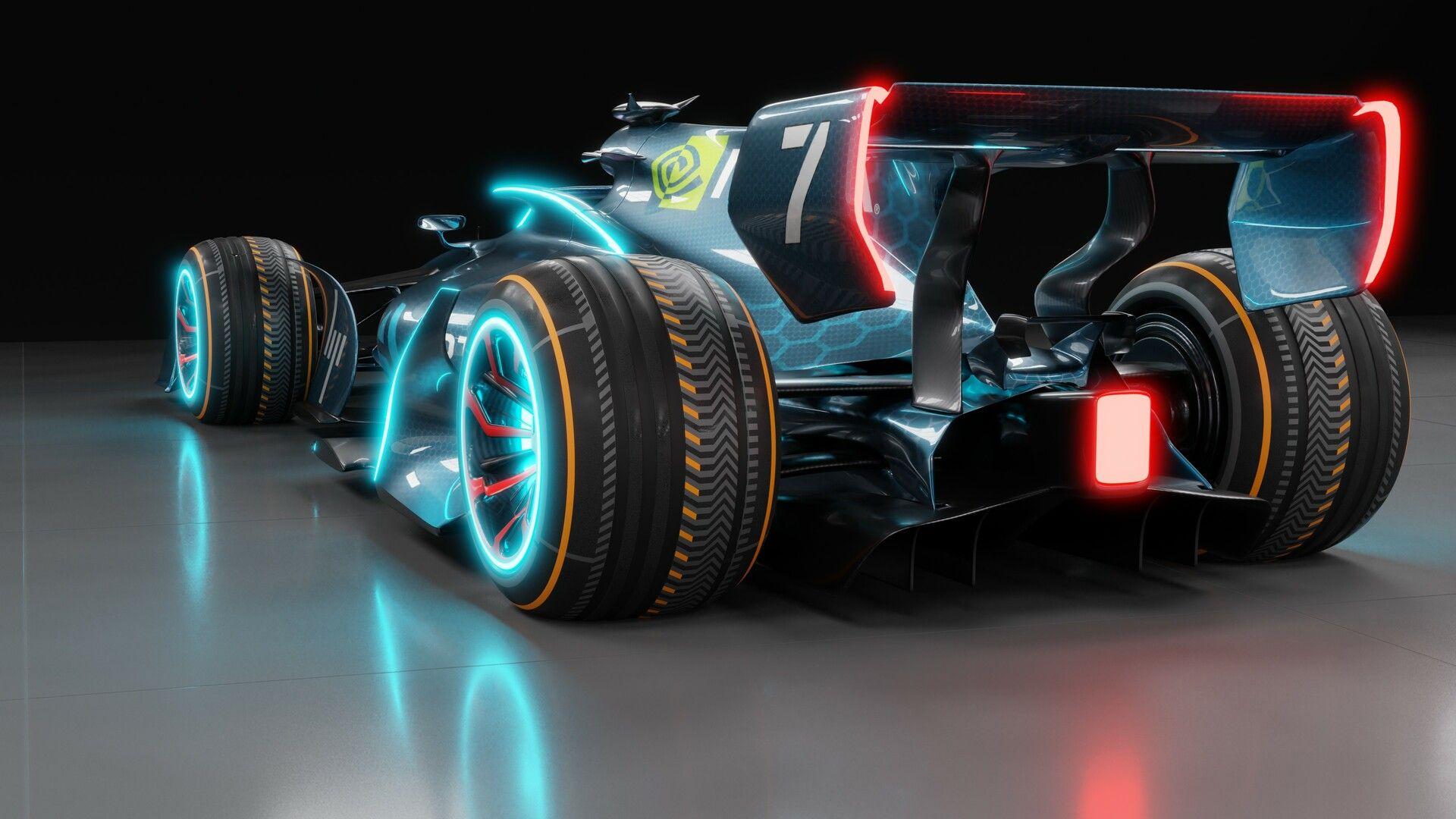 Futuristic F1 Car, Volodymyr Borovkov