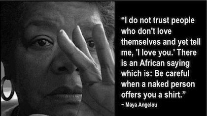 Image result for maya angelou on love
