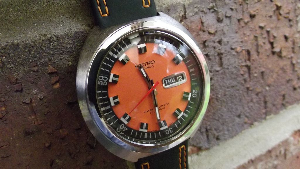Another shot of a Seiko 6106-7107 diver, designed / released in '69