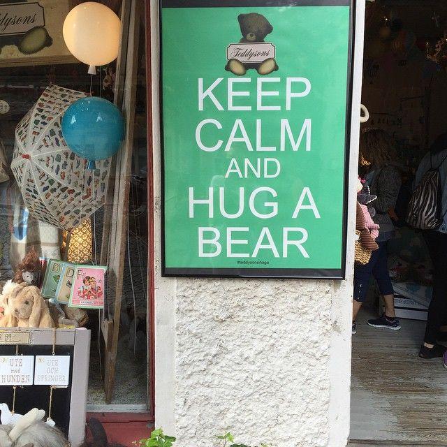 Best #advice of the #day #bear #hug #Goteborg #Sweden