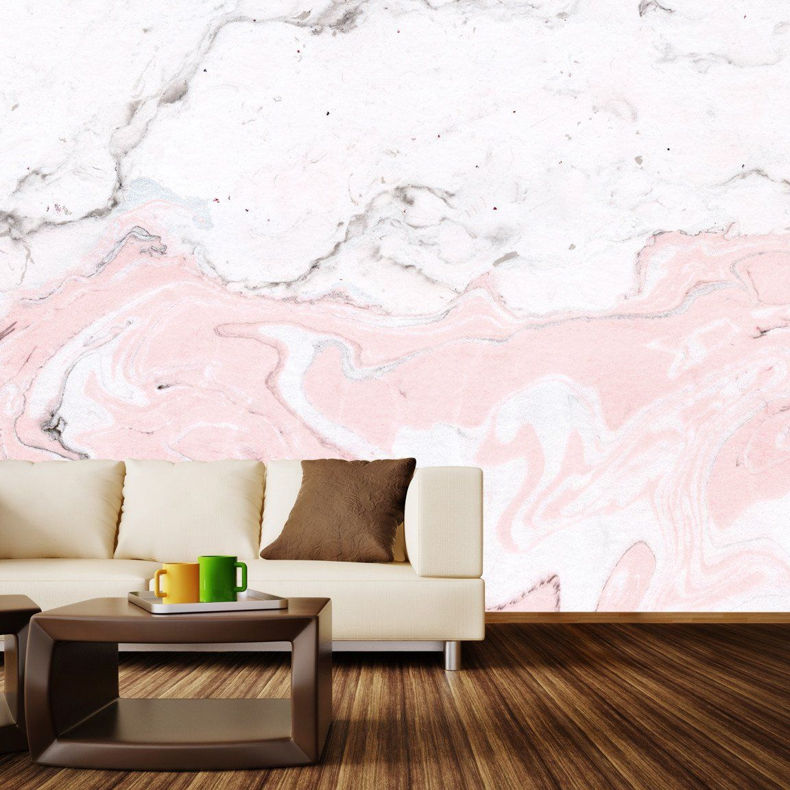 Wall Murals from WallsNeedLove lifestyle Marble wall