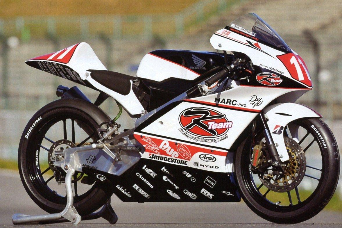 Honda Moto 3 Team Komuro My Bikes Pinterest 50cc Sport Bike