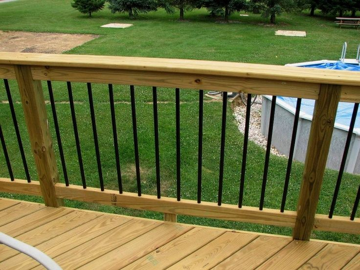 7bae234be7c2de6fa55e657e85bf6d3f Jpg 736 552 Pixels Deck Balusters Decks And Porches Aluminum Railing Deck