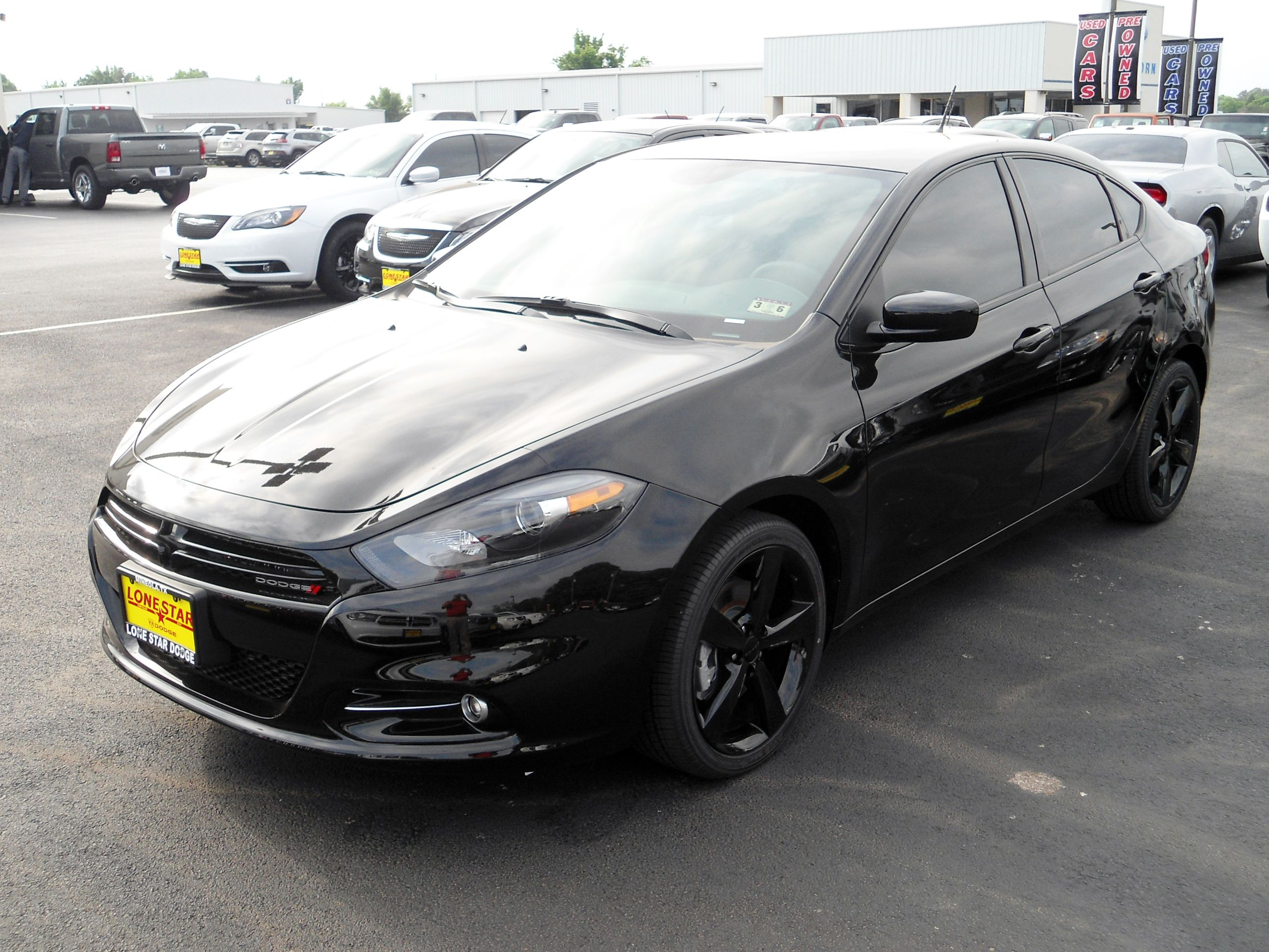 2014 Dodge Dart Sxt Equipped With The Blacktop Package And Rallye