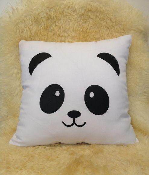 bc5b42e0dd7389 Capa de Almofada - Panda | MY ROOM DECORATIONS ! | Capas de ...