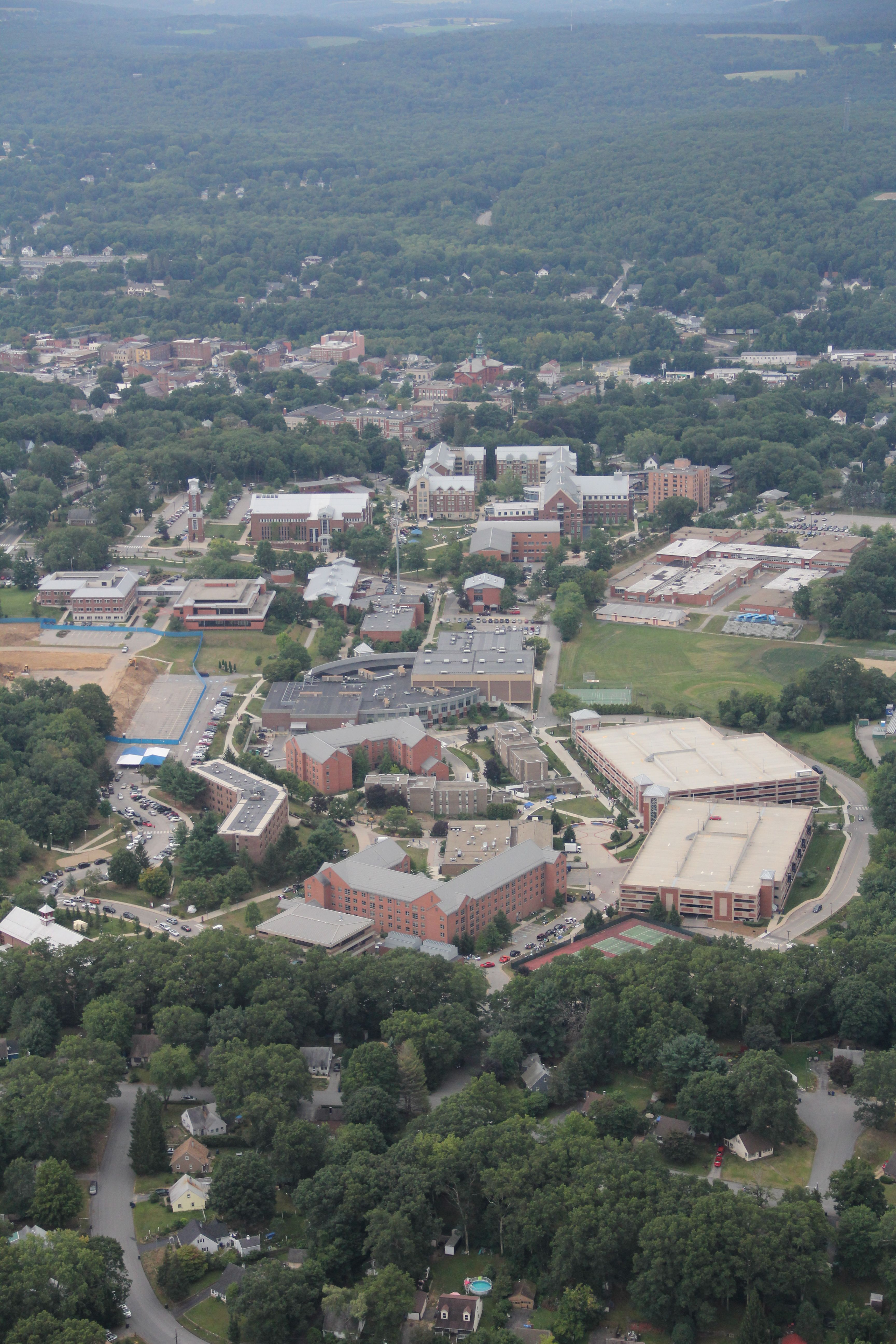 eastern connecticut state university map Aerial View Of Eastern Connecticut State University Aerial View eastern connecticut state university map