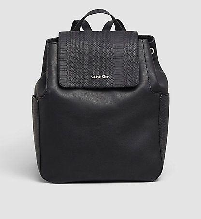 backpack nina women calvin klein uk bags pinterest backpacks klein backpack and bag. Black Bedroom Furniture Sets. Home Design Ideas