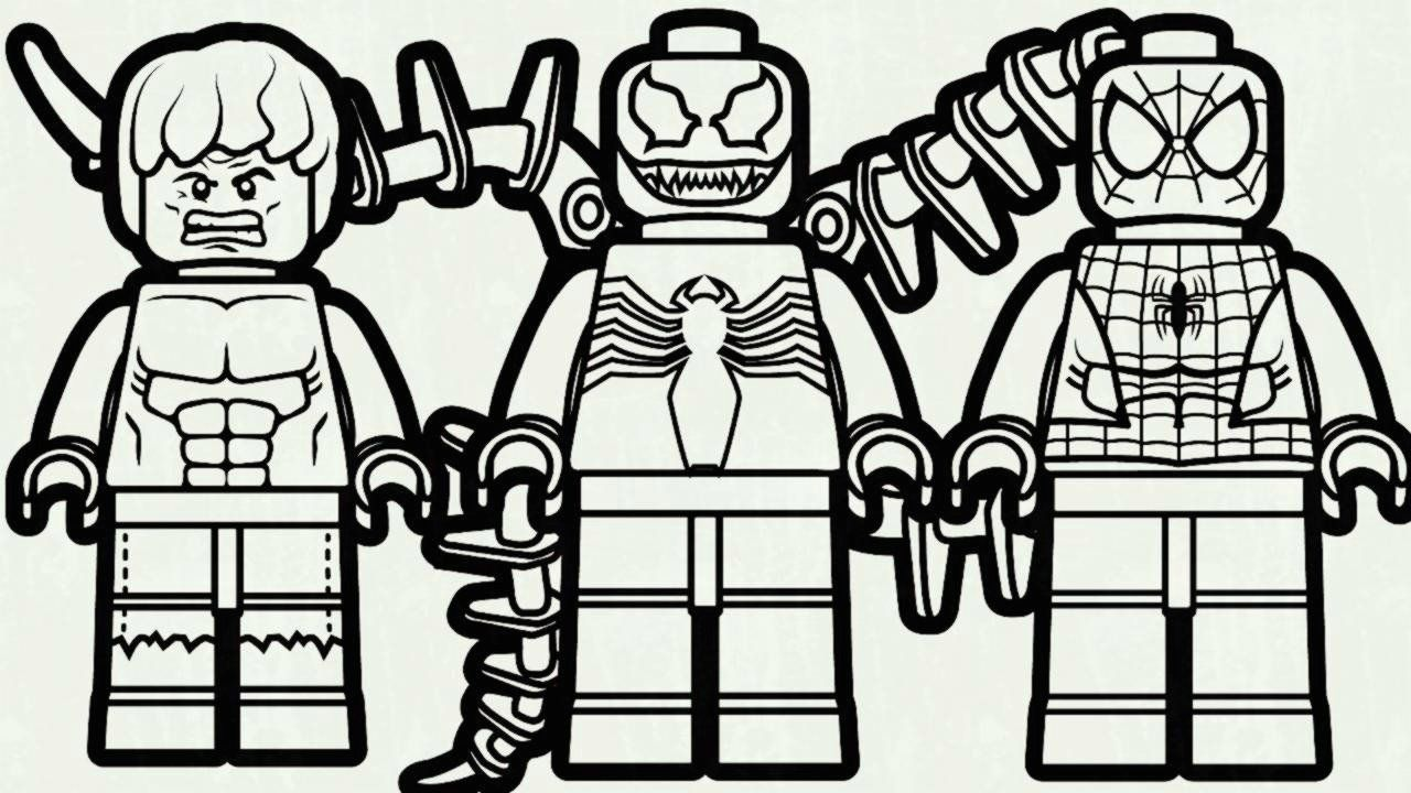 Lego Spiderman Coloring Pages Fresh Lego Spiderman Coloring Pages Coloring Pages Patinsudouest In 2020 Spiderman Coloring Lego Coloring Lego Coloring Pages