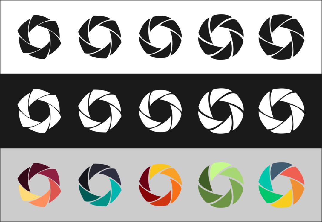 Camera Shutter Logo Concept By S0u1seeker Logo Concept Logos Camera Logo