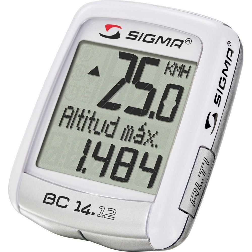 Sigma Sport Bc 14 12 Alti Wired Cycle Computer Cycling Computer Sigma Sport Heart Monitor