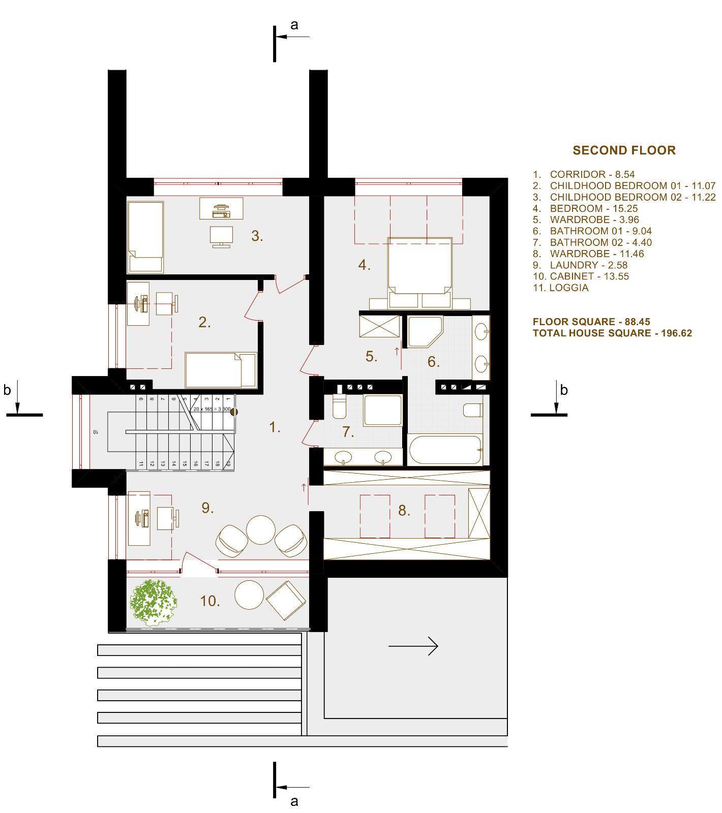 Modern House Plan Building Plans Blueprints Material List 2018