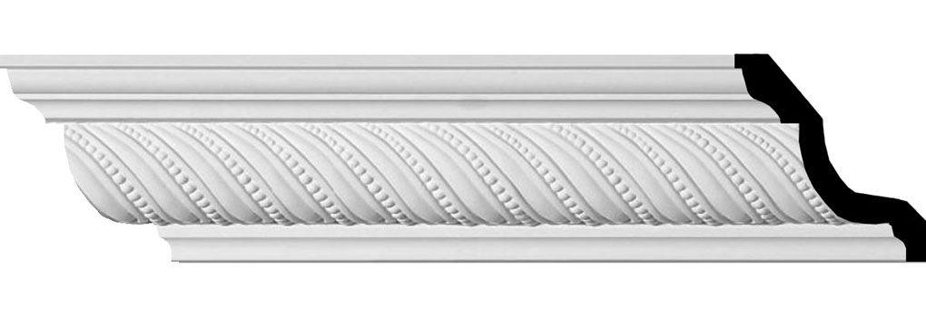 3 1 4 H X 3 3 8 P X 4 5 8 F X 96 L 1 1 4 Repeat Beaded Rope Crown Moulding Beaded Rope Easy Crown Molding Molding Installation