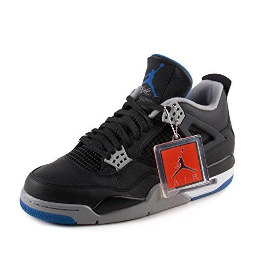 21d2afaef0b ... coupon code for jordan retro 4 alternate motorsports black game royal  matte silver 10.5 d 50b4f