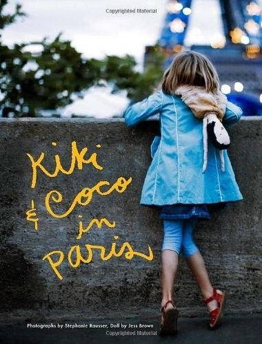 Kiki & Coco in Paris -- lovely photo-fiction story of a girl and her favorite doll