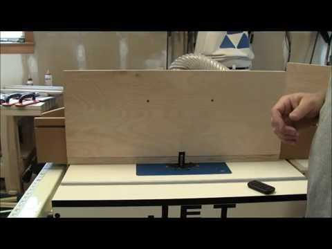 21 - Flush Trimming Edge Banding with a Router Table - YouTube