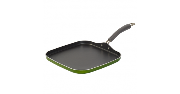 12 Inch Sage Green Square Griddle And Grill Pan Epicurious Sage Collection Griddles And Grill Pans Griddles Grill Pan