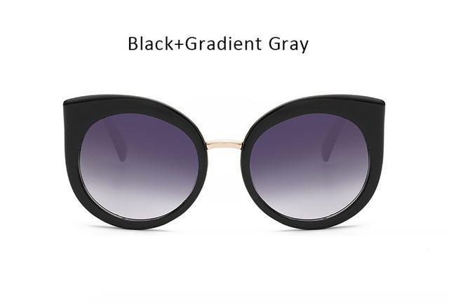 845bc59c0826 Pretty Kitty! Fabulous Oversized Cat-Eye Sunglasses