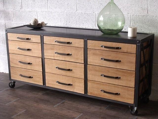 meubles et rangements meuble de rangement industriel bois 4367069 meublesindustriment abc71 big. Black Bedroom Furniture Sets. Home Design Ideas