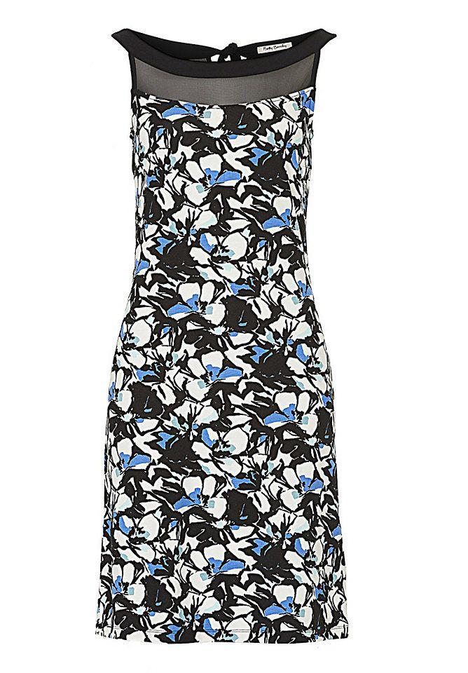 Betty Barclay Kleid mit Chiffon und Mustermix   Mode für Frauen ... bb3313536c
