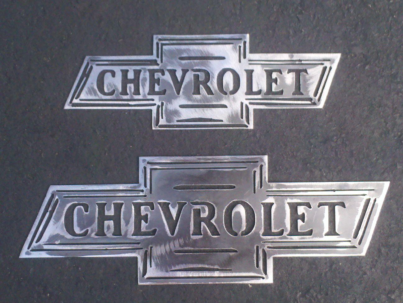 Old skool chevy logo with grunge detail metal art metal art old skool chevy logo with grunge detail metal art biocorpaavc Images