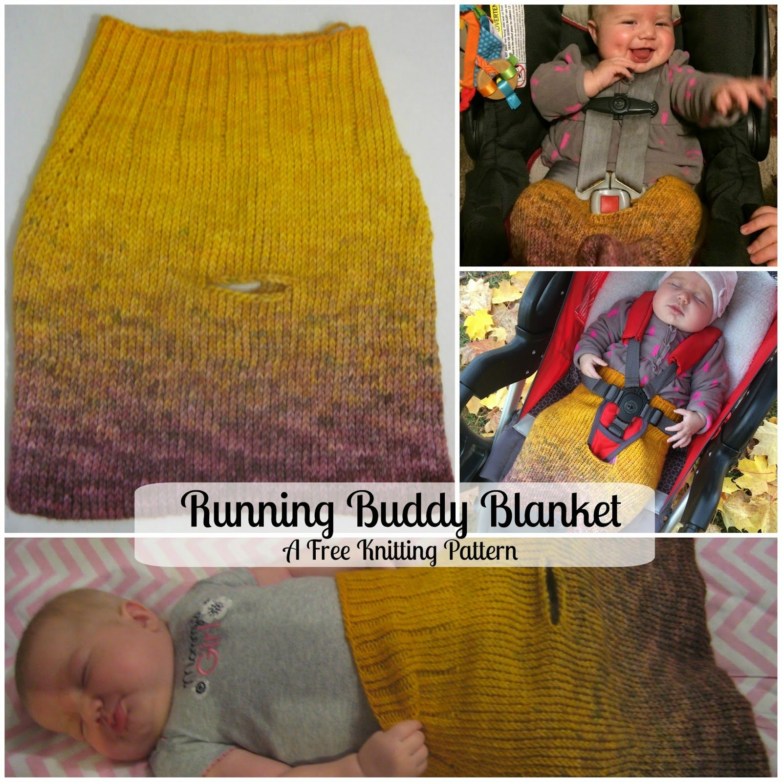 Running Buddy Blanket - A free knitting pattern to make a little ...