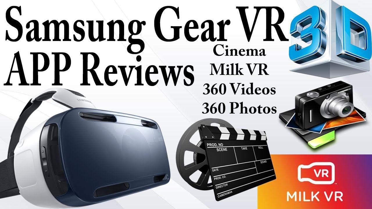 Samsung Gear VR APP Reviews (Note 4)- Oculus Cinema, MILK VR, 360 Videos...