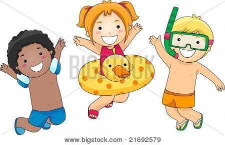 Ninos En Traje De Bano Caricatura Buscar Con Google Family Guy Character Fictional Characters