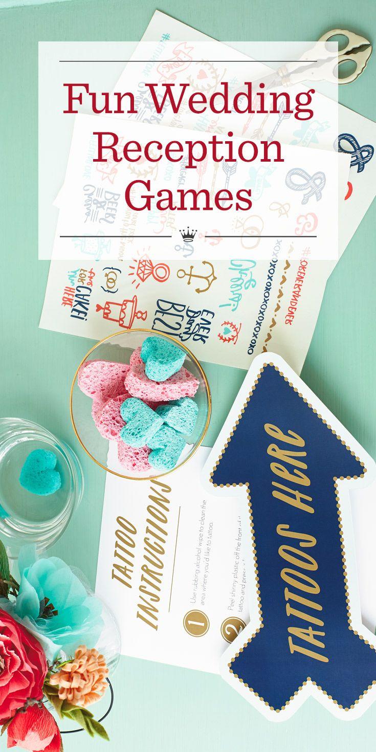 Fun Wedding Reception Games And Activities Wedding Reception Games