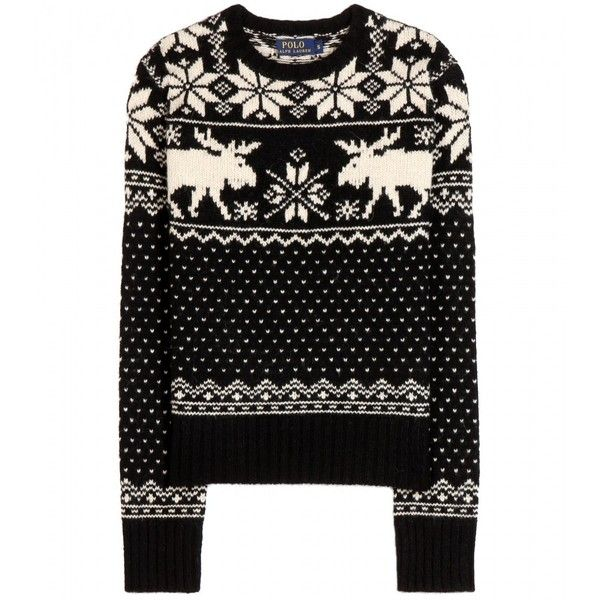 Polo Ralph Lauren Anouk Wool Knit Sweater ($270) ? liked on Polyvore  featuring tops