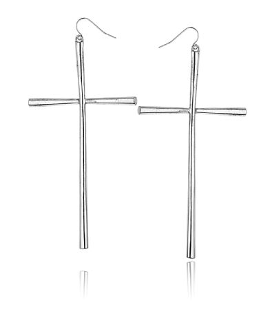 Gina Tricot - Cross dangle earrings