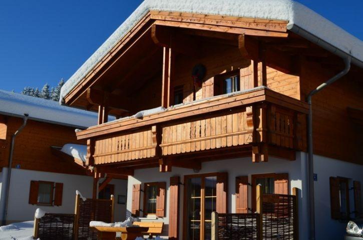 Bunte Kuh im Winter Style at home, Ferienhaus, Traum